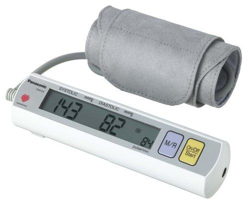Cheap Panasonic EW3109ACW Portable Automatic Arm Blood Pressure Monitor with AC Adapter, (White) (EW3109ACW)