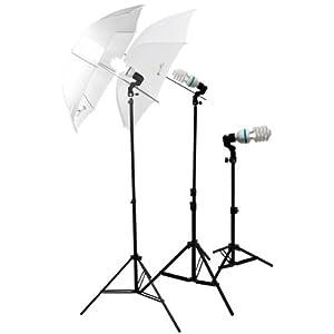 LimoStudio-Photography Photo Portrait Studio 600W Day Light Umbrella Continuous Lighting Kit