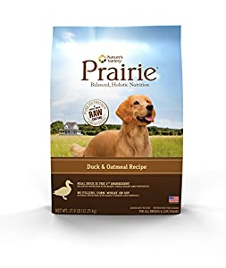 Prairie Duck & Oatmeal Recipe Dry Dog Food by Nature's Variety 27 lb Bag