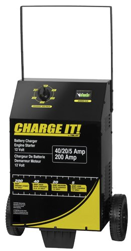 Clore 4725 Wheeled Battery Charger With Engine Start