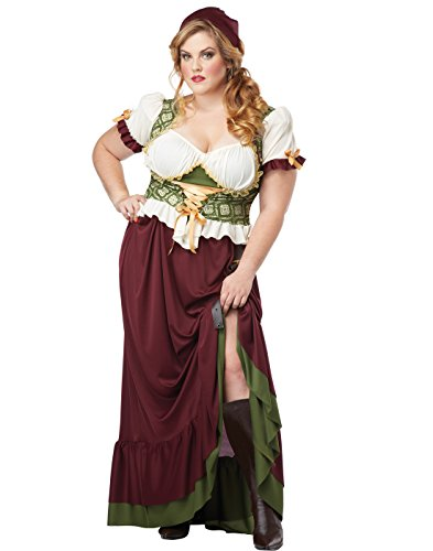 Renaissance Wench Plus Size Costume