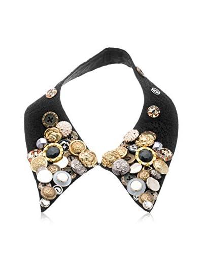 Passiana Boho Black Collar Necklace