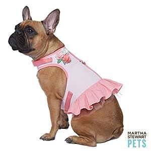 Amazon.com : Martha Stewart Pets Dog Vest Harness Pink Size: Medium