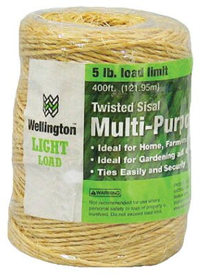 General Purpose Sisal Twine, 400'
