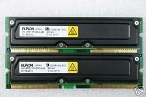 Elpida PC800-45 ECC 1GB (2 X 512MB) RDRAM RAMBUS RIMM