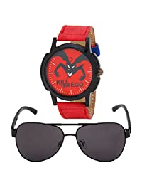 Relish Analog Round Casual Wear Watches For Men Combo - B01ANCDGZA
