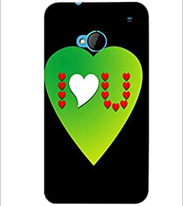 PrintDhaba Quote D-2869 Back Case Cover for HTC ONE M7 (Multi-Coloured)