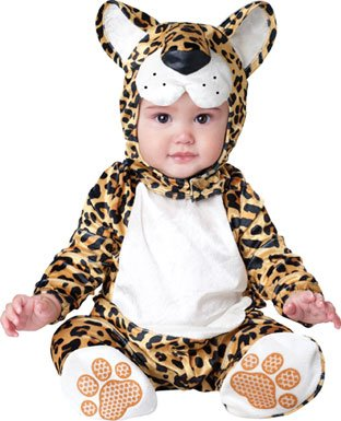 Incharacter Costumes, Llc Leapin Leopard, Yellow/Black, Small front-994418