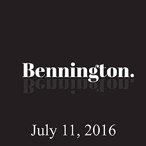 Bennington, Paul Morrissey, July 11, 2016 Radio/TV Program
