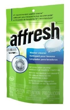 Whirlpool - Affresh High Efficiency Washer Cleaner, 18-Tablets (6-Pack)
