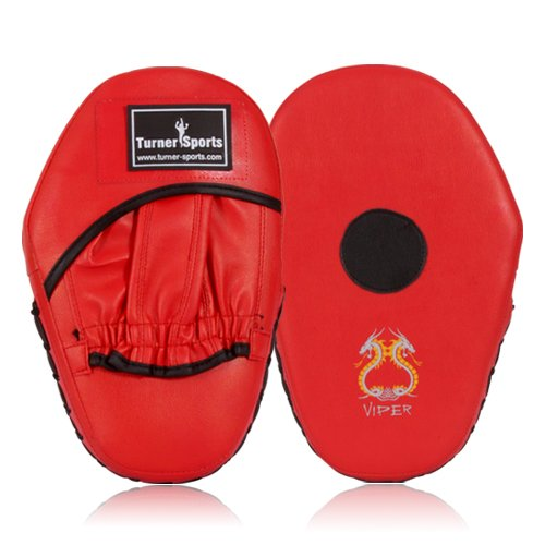 Focus Pads, Hook & Jab pads, Kick Pads, Boxing Pads, Martial Arts Red