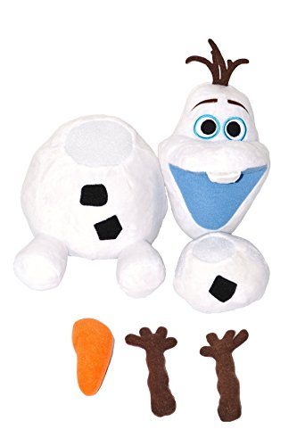 "Disney Frozen Pull Apart Plush Olaf Snowman. Limited Edition 16""H . Japan Import. - 1"
