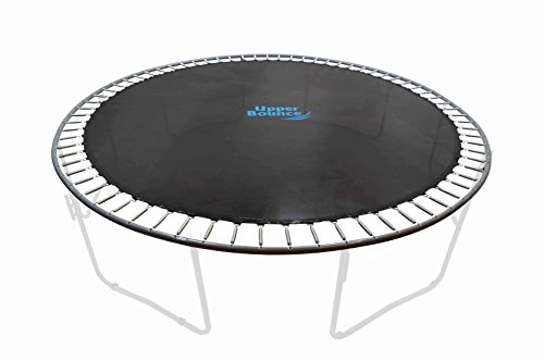 Upper Bounce Trampoline Jumping Mat fits for 14-Feet Round Frame with 88 v-rings for 7-Inch Springs