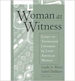 Witness essays