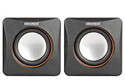 5 Core SPK-21 USB powered multimedia speaker for computers, mobile phones, laptops with 3.5mm jack, high quality speaker with soundbass powered with 2 W X 2 RMS speakers