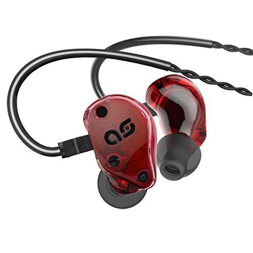 【国内正規品】Aurisonics ハイブリット型カナルイヤホン ASG2.5/レッド ASG2.5-RED