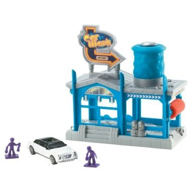 "Matchbox Car Wash ""Nice Washing Job"" Playset - 1"