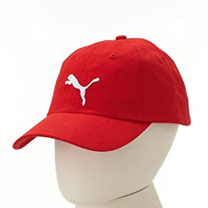 PUMA Kappe Basic Cap, red-white, 842637 04