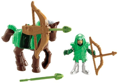 Fisher-Price Imaginext Eagle Talon Castle Archer and Horse at Sears.com
