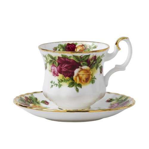 Royal Albert Old Country Roses 'Small'&Soucoupe pour tasse à café