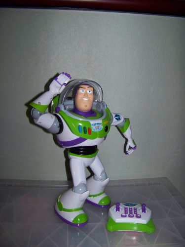 Disney Pixar Toy Story 3 Buzz Lightyear Ultimate Programmable Robot R/C Talking Figure