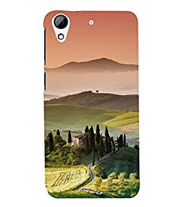 printtech Nature View Scenery Back Case Cover for  HTC Desire 728G