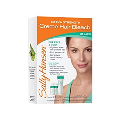 (3 Pack) SALLY HANSEN Extra Strength Creme Hair Bleach for Face & Body - SH2010