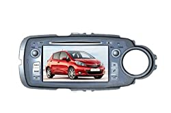See AupTech 2011-2014 Toyota Yaris Right Driving DVD Player Android System GPS Navigation Radio Stereo Video 2-Din HD Screen With Bluetooth,Wifi,3G,Build in Analog TV and Steering Wheel Control Details
