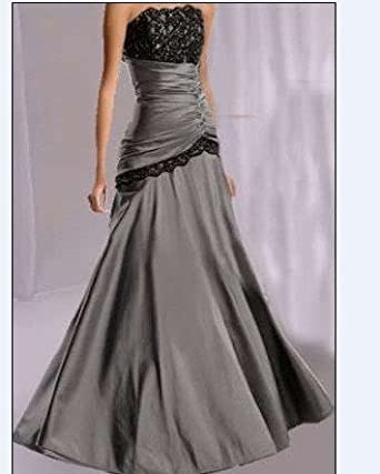 Tzy silver size 14 wedding reception evening dresses party for Evening dresses for wedding reception