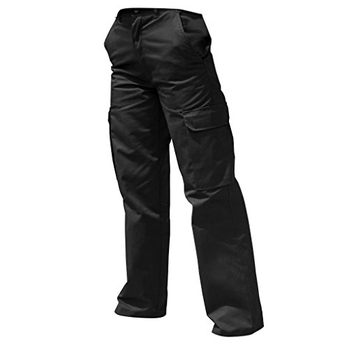 Harbour-Lights-Damen-Cargo-Hose-Arbeitshose-46-Regulr-Schwarz