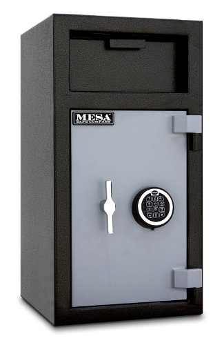 Mesa Safe Company Model MFL2714E-ILK Depository Safe with Electronic Lock and Inner Locker Two Tone GrayB001D6FO5Q