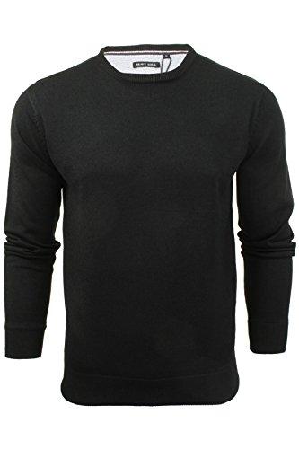 brave-soul-maglione-basic-uomo-black-x-large