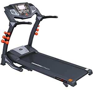Maxima Fitness MF-2000-VitesseXTR-R Auto Incline Folding Treadmill (Home Use) - Black/Grey, Large