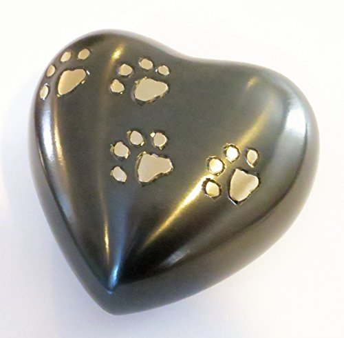 Funeral Heart Keepsake Urn by Liliane - Cremation