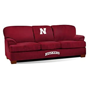NCAA Nebraska Cornhuskers First Team Microfiber Sofa by Imperial