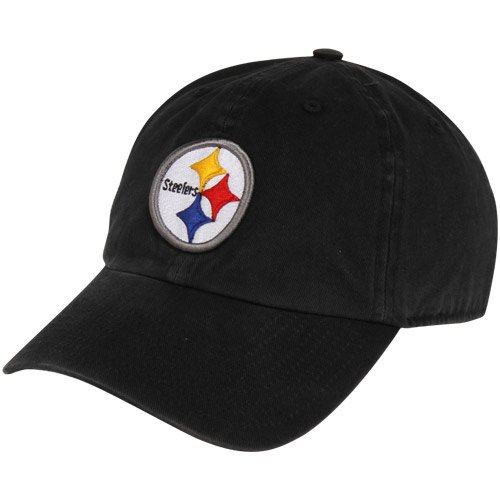 NFL Pittsburgh Steelers Clean Up Adjustable Hat, Black, One Size Fits All Fits All at Amazon.com