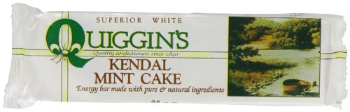Quiggin's Kendal White Mint Cake 85 g (Pack of 24)