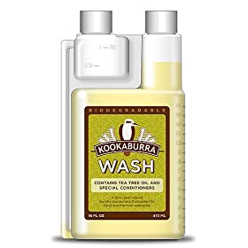 Kookaburra Sheepskin 16-Ounce Shampoo and Woolwash