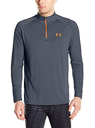 Under Armour Camiseta Técnica Ua Tech 1/4 Zip (Gris)