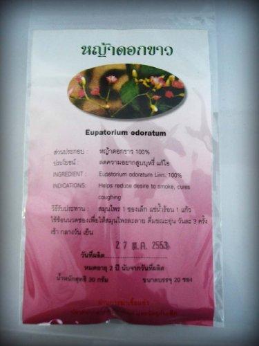 Eupatorium Odaratum Tea Helps To Stop Smoking Thanyaporn Herbs Product Of Thailand