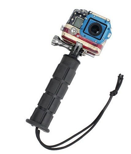 Masione™ Aluminum Handle Grip Stabilizer Mount W/ Tripod Adapter Wrist Strap For Gopro Hero Cameras