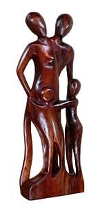 Familie Kinder abstrakt Herz Liebe Kuß Holz A30.12