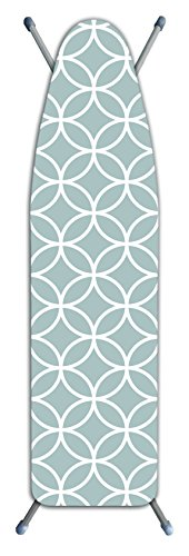 Laundry Solutions by Westex Deluxe Extra Thick Circles Ironing Board Cover, Gray