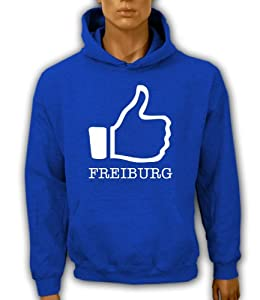 Artdiktat Hoodie I like Freiburg