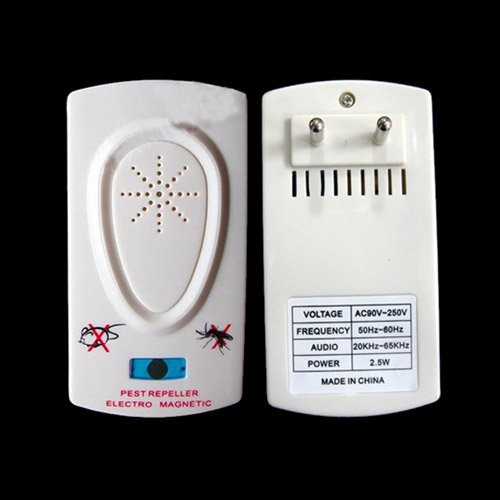 Ultrasonic Mosquito Repeller With Insect Device