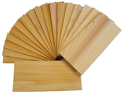 "Review Of Cedar Grilling Planks 30 Pack 5""x11"" (2nds) Western Red Cedar"