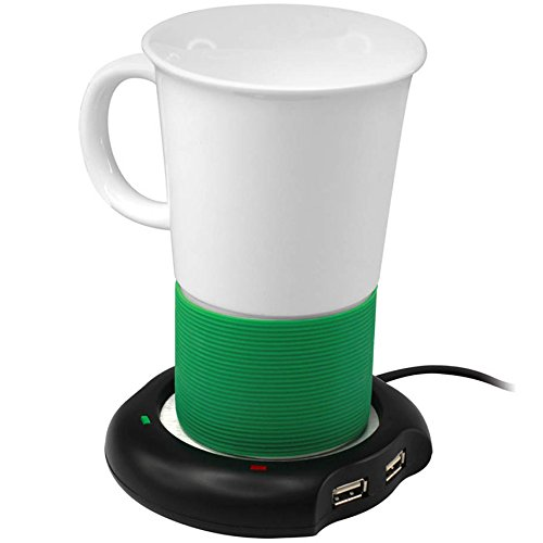 Usb Beverage Warmer With Usb Hub