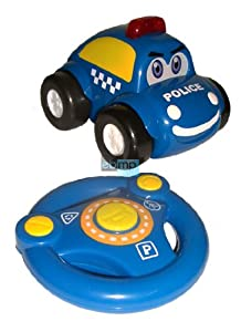 ferngesteuert rc polizei auto polizeiauto f kleinkinder. Black Bedroom Furniture Sets. Home Design Ideas