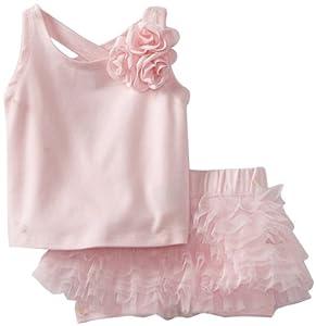 Kate Mack Baby-Girls born Blooming Roses Tee by Kate Mack