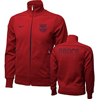 FC Barcelona Red Nike Authentic N98 Jacket (XL)